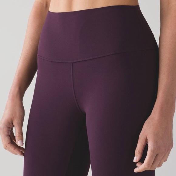 6fa26ffd443fae lululemon athletica Pants | Lululemon Align Pant Ii In Black Cherry ...